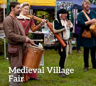COMPLETED: October 26 - Medieval Village Fair returns to Camelot Castle, Yellingbo
