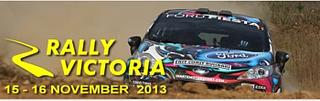 COMPLETED: November 14-16 - Rally Victoria 2013 - Daylight Hours