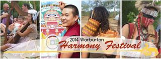 COMPLETED: May 16 - 19, 2014 - Warburton Harmony Festival