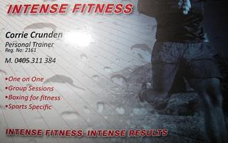 INTENSE FITNESS : PERSONAL TRAINING