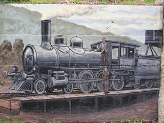 S Class Train On Turntable West End of Warburton Station. Sponsor: Paul & Visnja. History by Robin Fisher.
