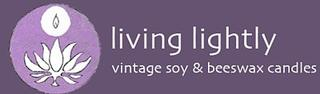 Living Lightly - Vintage Soy and Beeswax Candles - Ph 0417 164 857