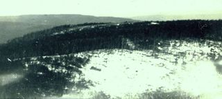 Snow on Mt Donna 1933-1934 approx.