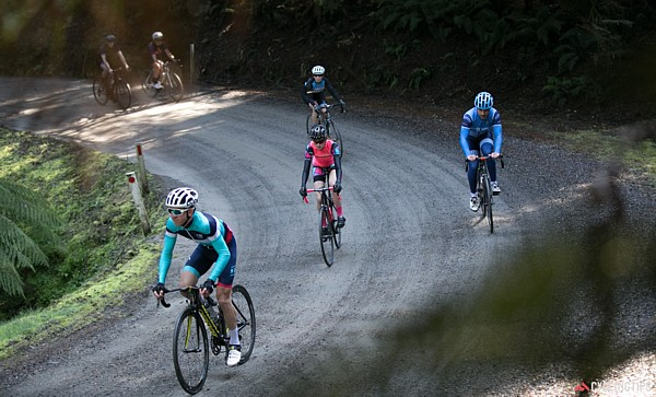 Giro della Donna event - Cycling on Mt Donna Buang