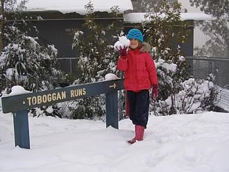 Snow this weekend in Warburton?