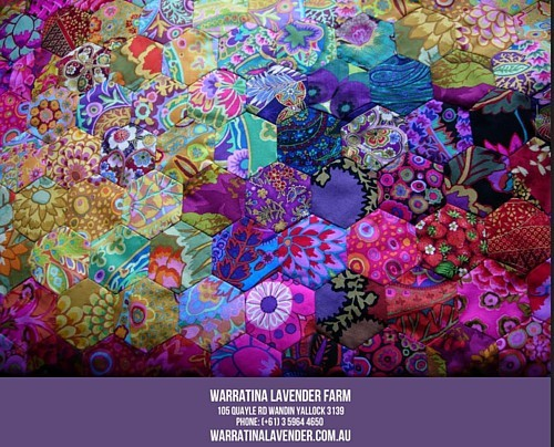 13 - 28 May 2017 - Warratina Lavender Annual Patchwork Exhibition