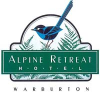 Alpine Retreat - Breakfast, lunch and dinner: Ph 03 5966 2411