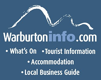 Cick for restaurants and food in Warburton Valley