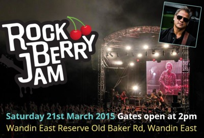 2016 completed Feb 27. Rock Berry Jam - Wandin East Reserve - not running in 2017