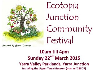 March 22, 2015 - Ecotopia Junction Community Festival