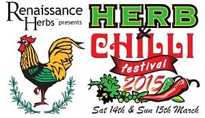March 14-15, 2015 - Herb and Chilli Festival - Wandin, Vic
